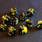 12mm Oblivion Spot Dice - Yellow
